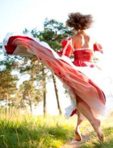 Tanz in der Natur