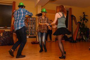 Beziehungsspiel Forro Tanz mit Gisele do Brasil und Tanzgruppe